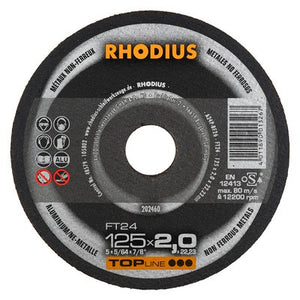 Rhodius FT24 Doorslijpschijf conventioneel
