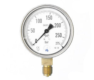 Manometer 0-275 bar 1/2
