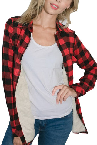 Checker Lined Flannel