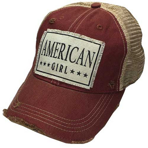 American Girl Trucker Hat