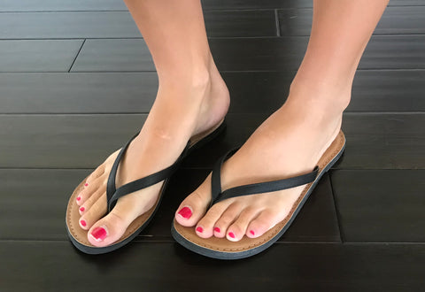 Casual Flip Flop-Black