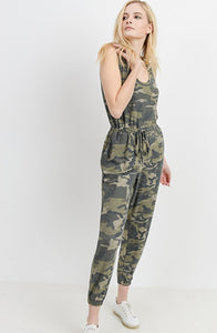 Dark Camo Jumpsuit