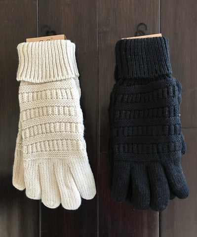 CC Lined Touchscreen Gloves