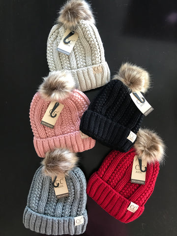 CC Kids Lined Hat