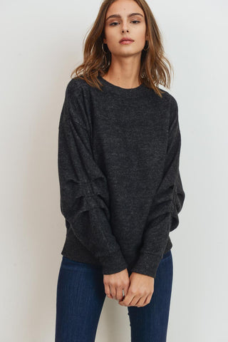 SSC: Gathered Sleeve Top
