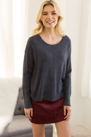 Sprinkled Easy Sweater