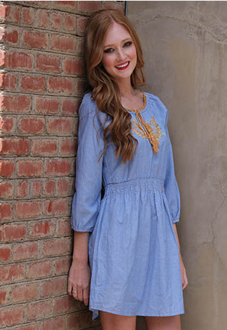 Tassel Tie Dress