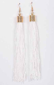 Tassel Cord Earrings