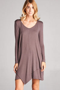 Tobacco Tunic Dress