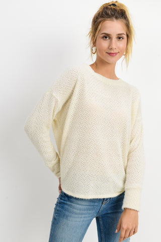 Lightweight Ivory Sweater