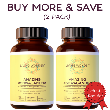 Amazing Ashwagandha, Buy More & Save (2 Bottles)