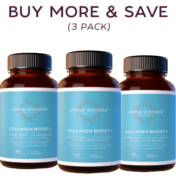 Collagen Boost+ BUY MORE and SAVE (3 Bottles)