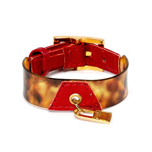 Bracelet Koovita - Red - LALE - LEATHER - BRACELETS