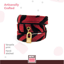 Load image into Gallery viewer, Bracelet 3V - Red Tiger - LALE - LEATHER - BRACELETS