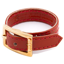 Load image into Gallery viewer, Bracelet 1V - Orange - LALE - LEATHER - BRACELETS