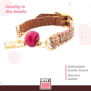 Bracelet Mini Ale - Camel - LALE - LEATHER - BRACELETS