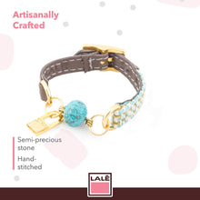 Load image into Gallery viewer, Bracelet Mini Ale - Grey - LALE - LEATHER - BRACELETS