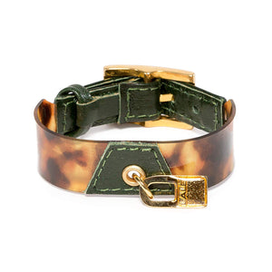Bracelet Koovita - Dark Green - LALE - LEATHER - BRACELETS