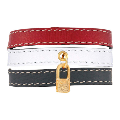 Bracelet USA Flag - LALE - LEATHER - BRACELETS