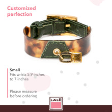 Load image into Gallery viewer, Bracelet Koovita - Dark Green - LALE - LEATHER - BRACELETS