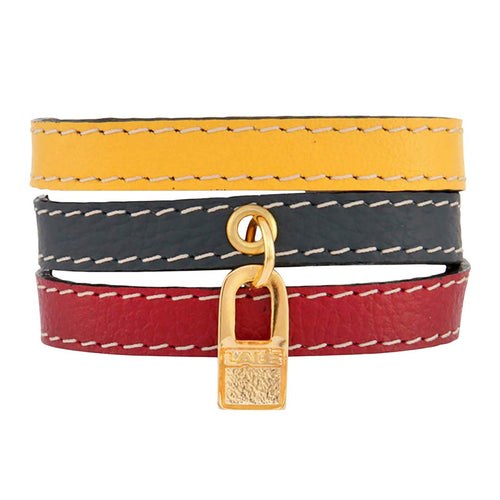 Bracelet Venezuela Flag - LALE - LEATHER - BRACELETS