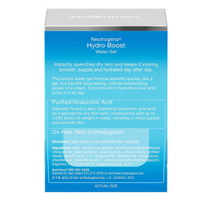 Neutrogena Hydro Boost Face Gel Moisturizer