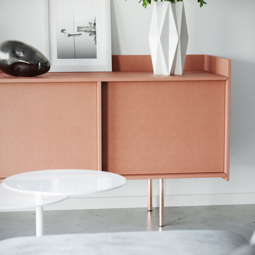 Set of 4 Copper Cabinet and Furniture Legs - ivadecorstudio