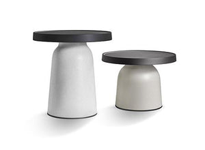 Thick Top Side Table -High- - ivadecorstudio