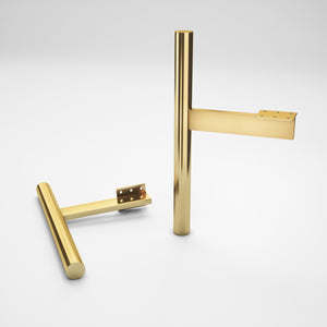 Set of 4 Brass Cabinet Legs - ivadecorstudio