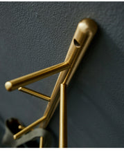 Load image into Gallery viewer, Branch Brass Hanger - ivadecorstudio