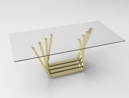 Accordion Dining Table Base - ivadecorstudio