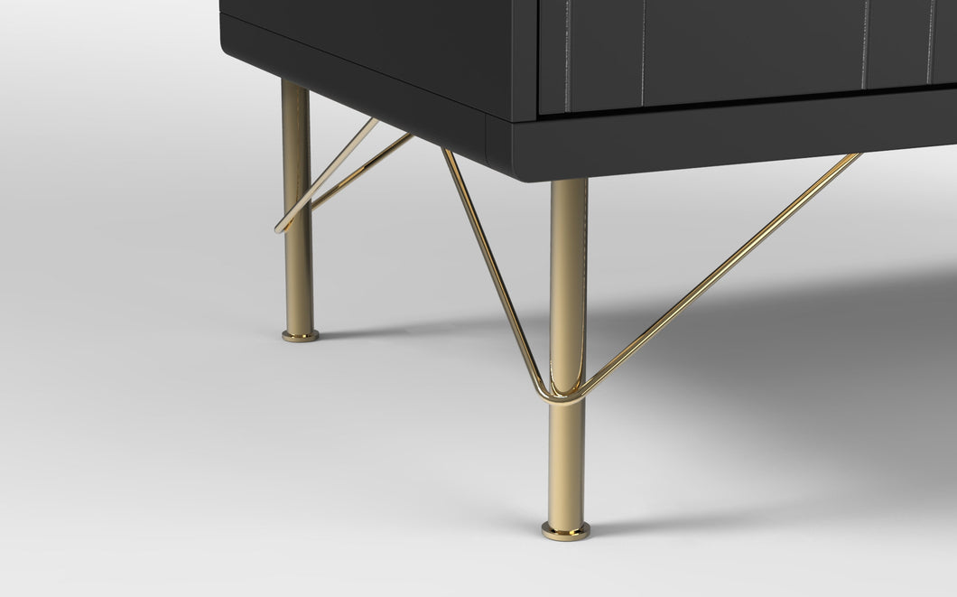 7 7/8'' Gold Furniture Legs For Sofa and Cabinet - ivadecorstudio