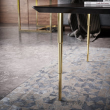 Load image into Gallery viewer, Set of 4 16'' Brass Tapered Coffee Table Legs - ivadecorstudio