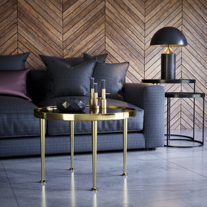 Set of 4 16'' Brass Tapered Bench Legs - ivadecorstudio
