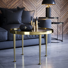 Load image into Gallery viewer, Set of 4 16'' Brass Tapered Bench Legs - ivadecorstudio