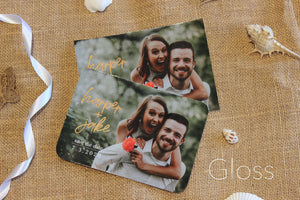 Lily Save The Date Magnet