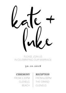 Kate Invitation