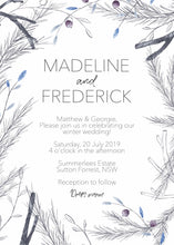 Load image into Gallery viewer, Madeline Invitation