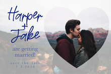 Load image into Gallery viewer, Harper Save The Date