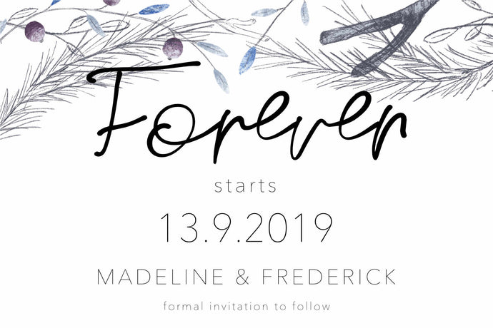 Madeline Save The Date