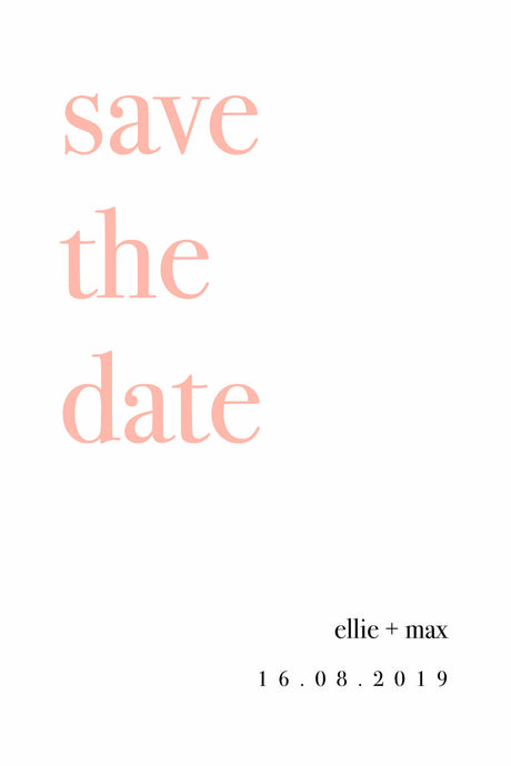 Ellie Save The Date