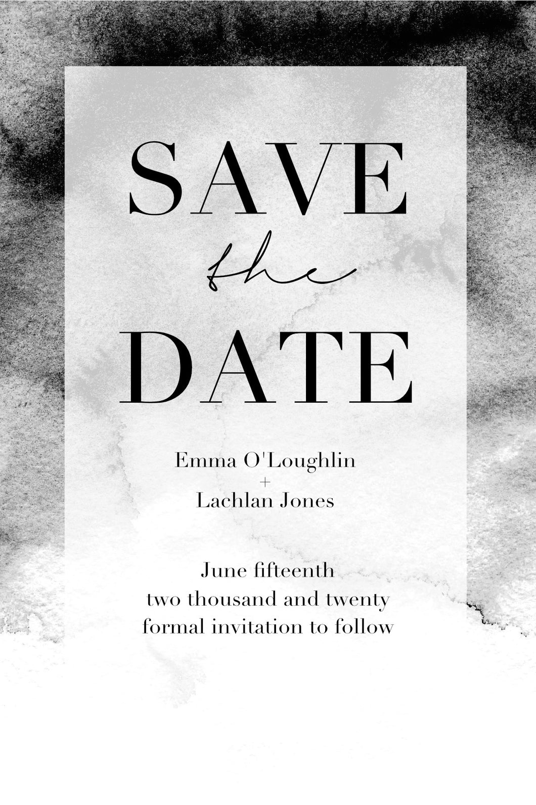 Emma Save The Date