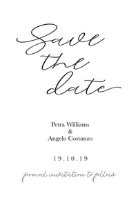 Petra Save The Date