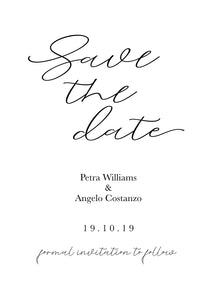 Petra Save The Date Magnet