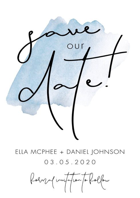 Ella Save The Date Magnet