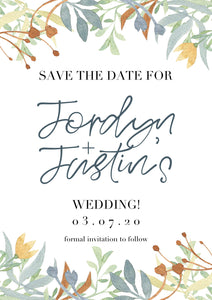 Jordyn Save The Date