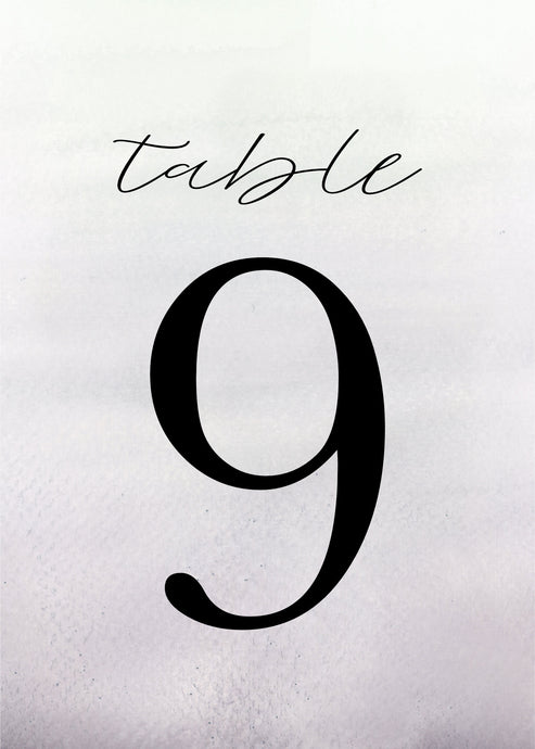 Petra Table Number