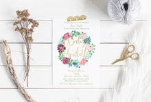 Load image into Gallery viewer, Charlotte Baby Shower Invitation