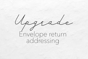Envelope Return Addressing