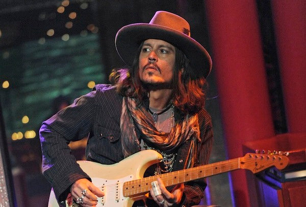 johnny depp groupe